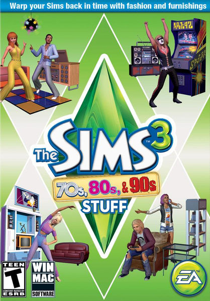 The Sims 3: 70s, 80s, & 90s Stuff pack - Oynasana