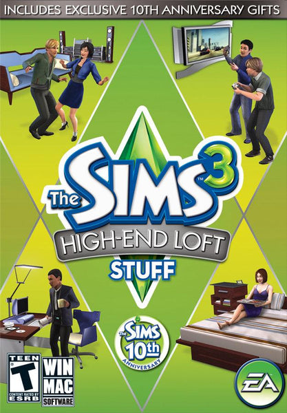 The Sims 3: High End Loft Stuff - Oynasana
