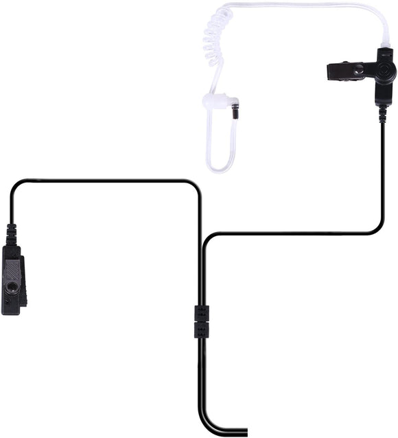 2 Wire Surveillance Radio Headset