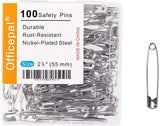 100-Piece Safety Pins - Dependable Expendables
