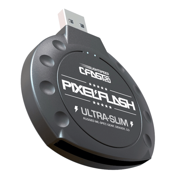PixelFlash CFAST 2.0 Card Reader USB 3.0 SATA III 500MB/s - Dependable Expendables