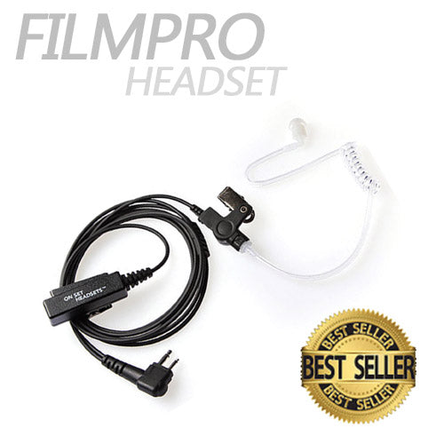 FilmPro Walkie Headset - Dependable Expendables