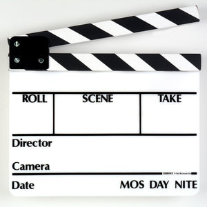 SLT-13 Director Slate Clapboard - Dependable Expendables