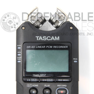 Tascam DR-40 Recorder, USED, A-