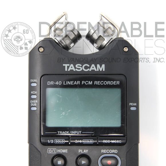 Tascam DR-40 Recorder, USED, A- - Dependable Expendables