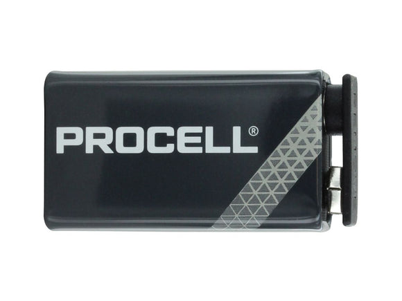 Duracell ProCell 9V Battery 12 Pack - Dependable Expendables