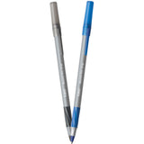 BIC Round Stic Grip Xtra Comfort Ball Pens, Black and Blue Ink - Dependable Expendables
