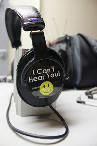 """I Can't Hear You"" Stickers - Dependable Expendables"