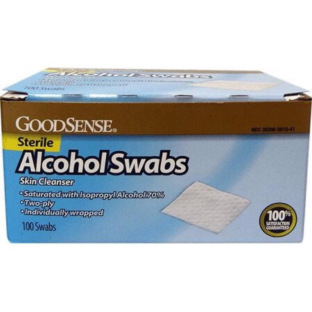 Alcohol Prep Pads, 100 ct - Dependable Expendables