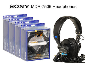 SONY MDR7506 Headphones - Dependable Expendables