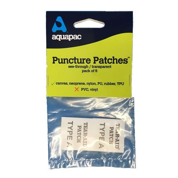 Aquapac Puncture Patches - Dependable Expendables