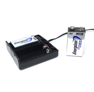 Dual 9V Battery Sled - Dependable Expendables