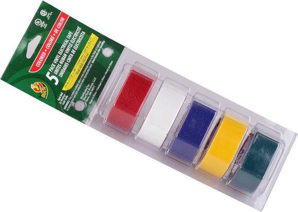 Electrical Tape Kit - 5 Colors - Dependable Expendables
