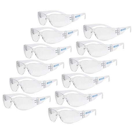 Jorestech Safety Glasses, 12 pack - Dependable Expendables