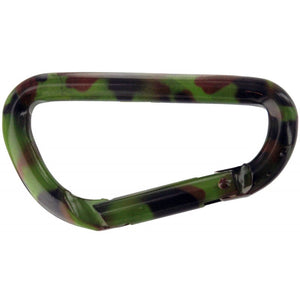 Camouflage Carabiner - Dependable Expendables