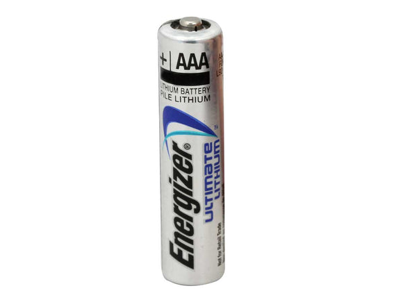 Energizer Ultimate Lithium AAA - Single - Dependable Expendables