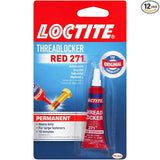 Loctite 209741 ADHESIVES_AND_SEALANTS, 0.2, Red - Dependable Expendables