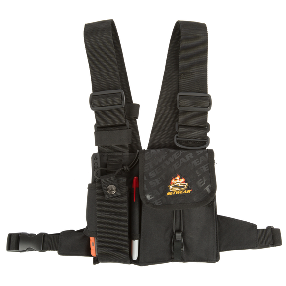 SetWear Two-way Radio Walkie Chest - Dependable Expendables