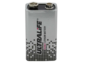 Ultralife 9V Lithium Battery - Dependable Expendables