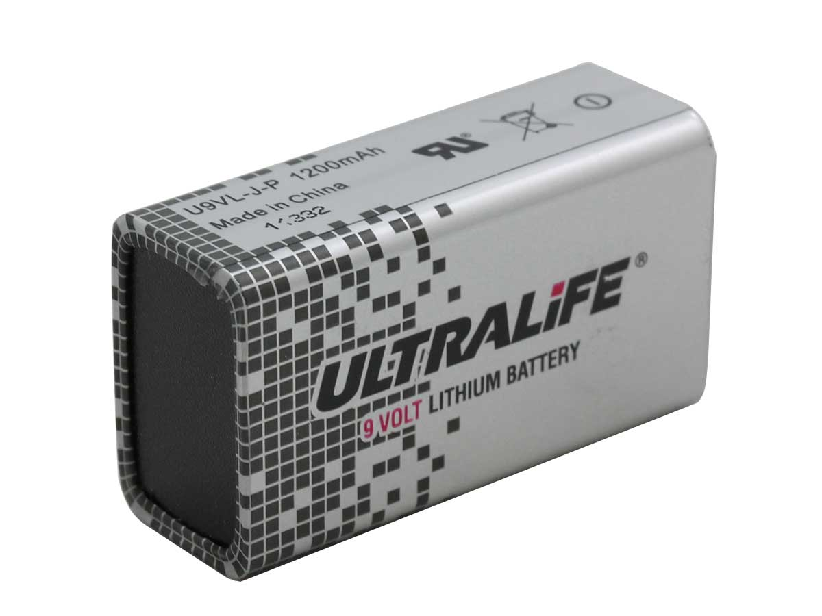 Ultralife 9v Lithium Batterie : ultralife 9v lithium battery dependable expendables ~ Watch28wear.com Haus und Dekorationen