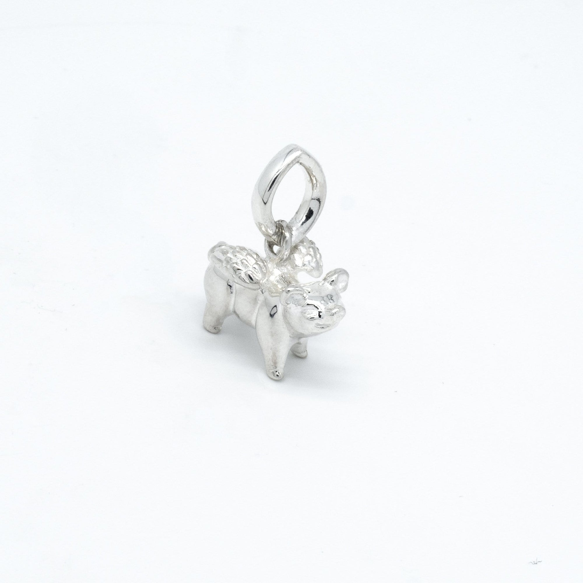 Flying Pig Silber Anhänger I Accessoire I STEINLINS
