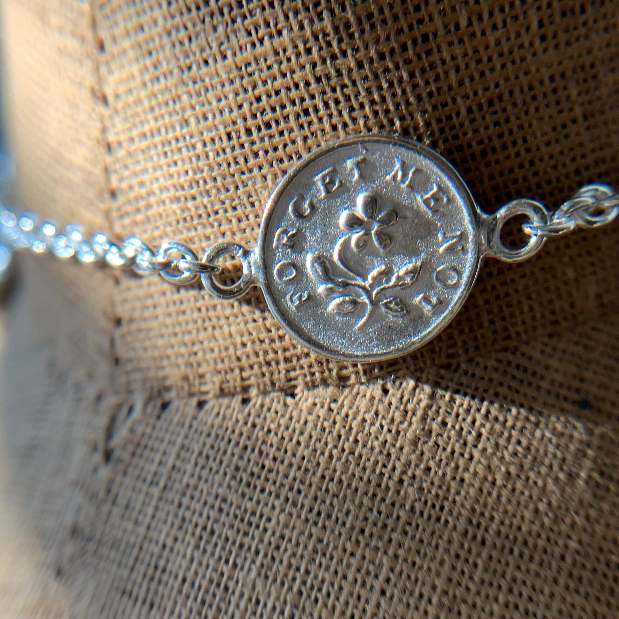Silber Armband I Forget Me Not I STEINLINS