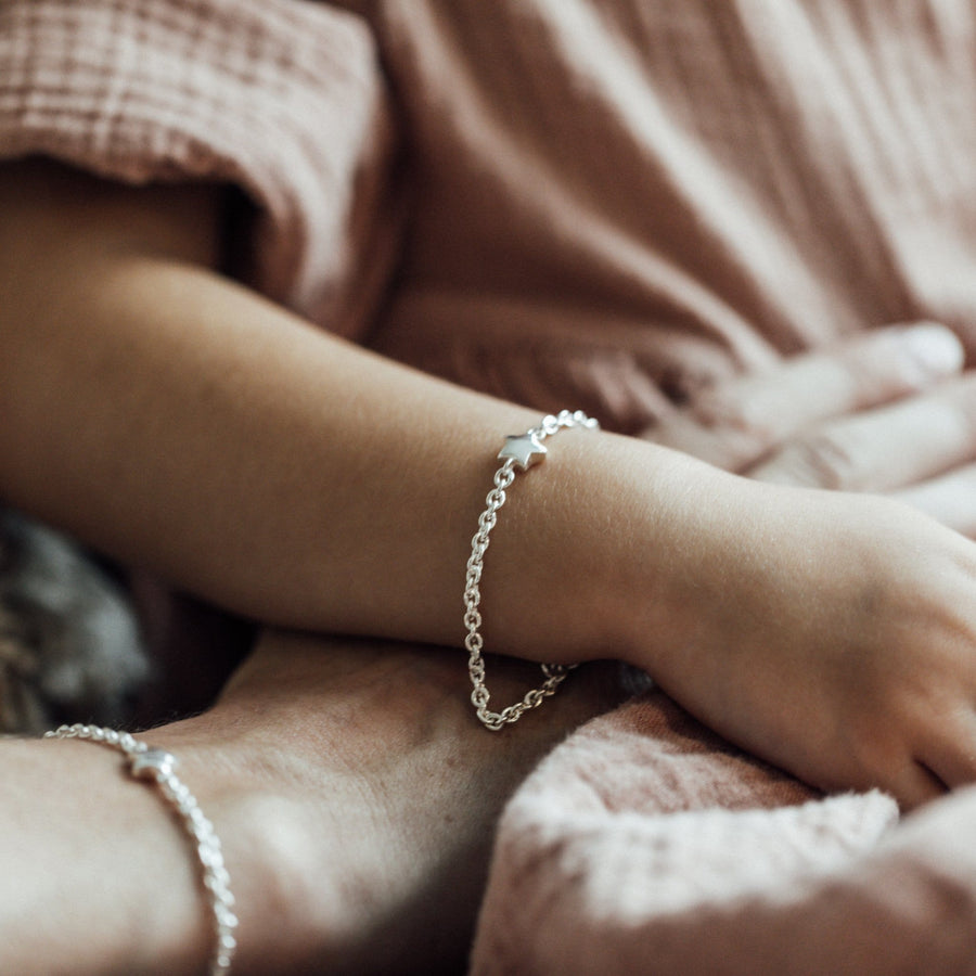Little Stella Silber Armband I Mami & Me I STEINLINS