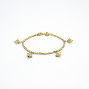 Lilly Bettelarmband gold