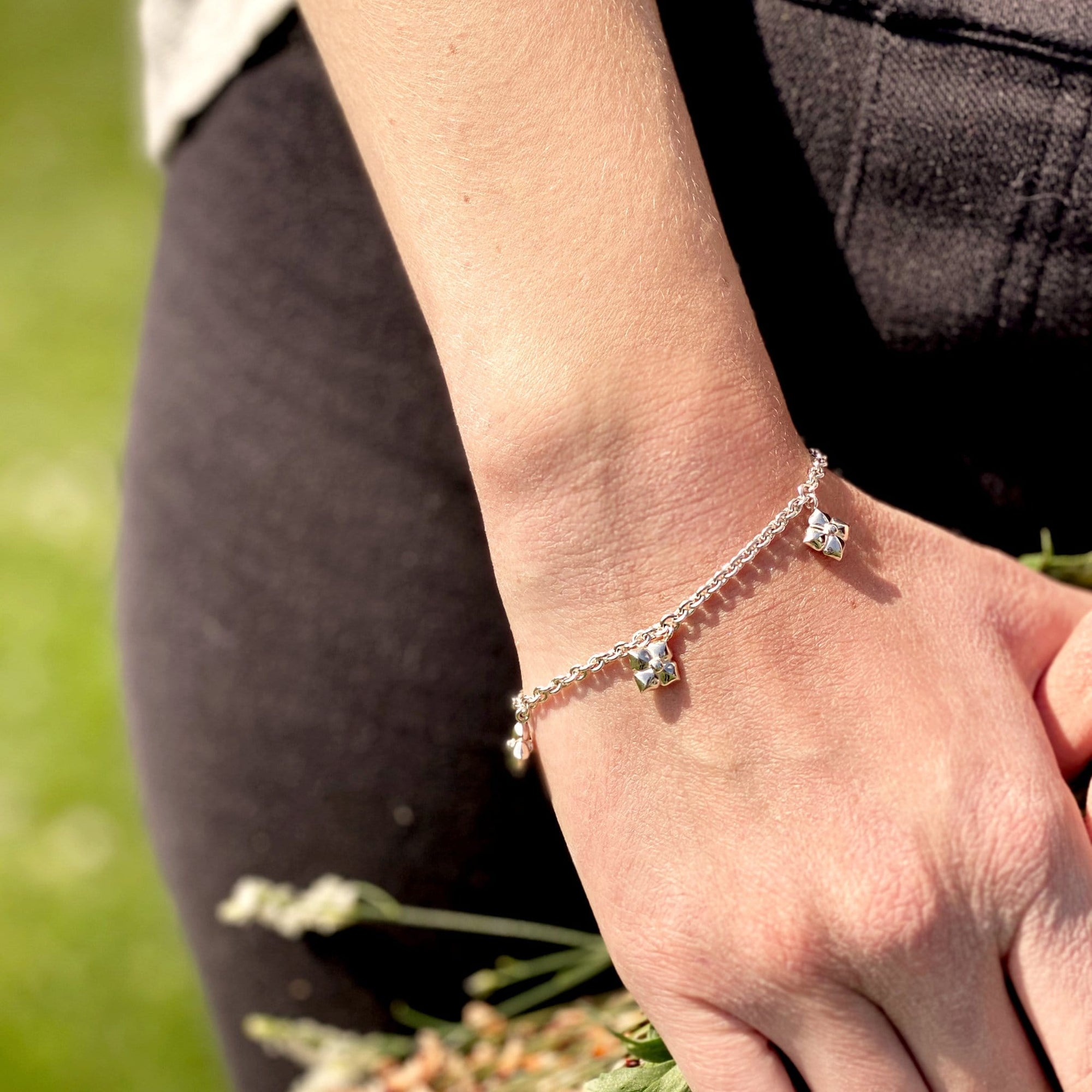 Lilly Bettel-Armband Silber I STEINLINS