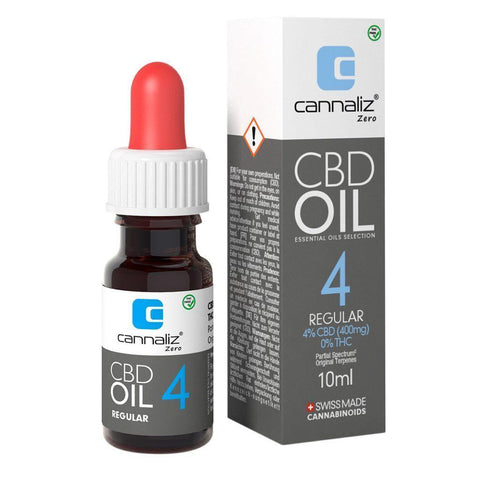 CBD Oil REGULAR mit 4% CBD (THC Free) - CBD Discounter