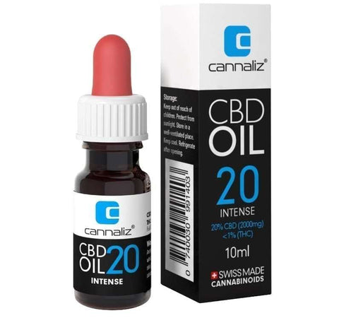 CBD Oil INTENSE mit 20% CBD - CBD Discounter