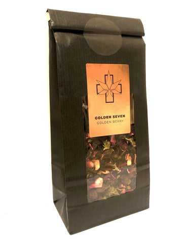 Golden Seven-CBD Tee Golden Berry 100g-CBD Tee-CBD Discounter