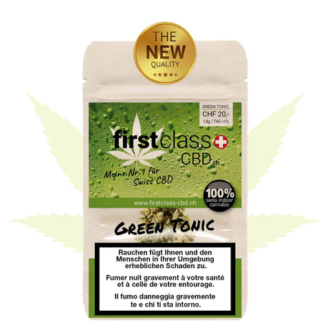 Green Tonic Indoor - firstclass CBD