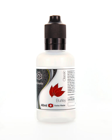 InSmoke Liquid 40ml Burley Tobacco 0mg Swiss Made