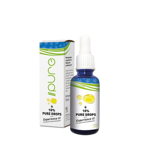 Pure Drops Vollspektrum mit 10% CBD - CBD Discounter