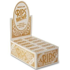Rips Hemp Regular Rolls (24) - CBD Discounter