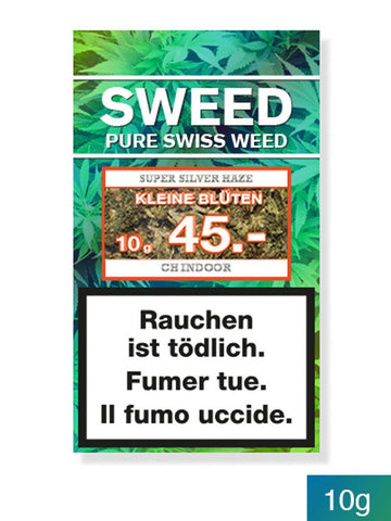 Super Silver Haze Kleine Blüten Indoor - Sweed