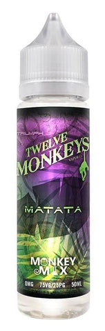 Twelve Monkeys Liquid 50ml Matata 0mg - CBD Discounter