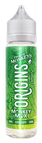 Twelve Monkeys Liquid 50ml Origins Lemur 0mg - CBD Discounter