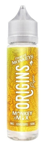 Twelve Monkeys Liquid 50ml Origins Papio 0mg - CBD Discounter