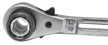 4-way Ratchet Podger Wrench Spanner | 17-24mm Aluminium | Supertool SRF3