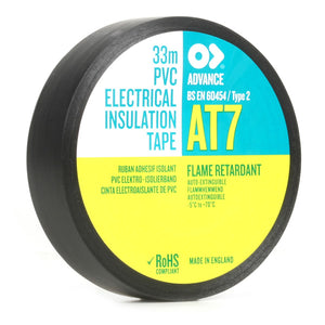 Advance AT7 PVC Electrical Tape | 20m x 19mm