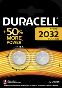 CR2032 | Coin Cell Battery | Duracell