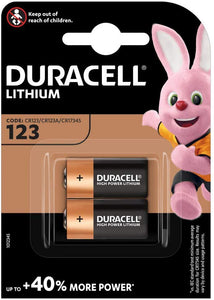 CR123 Battery | Duracell 123