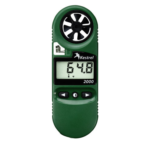 Handheld Wind Meter with Temperature | Kestrel 2000