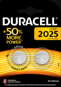 CR2025 | Coin Cell Battery | Duracell