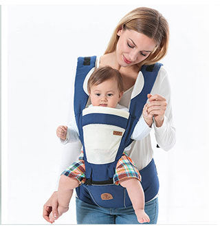 Squirrelbaby Hooded Baby Heaps Kangaroo Sling Multifunctional
