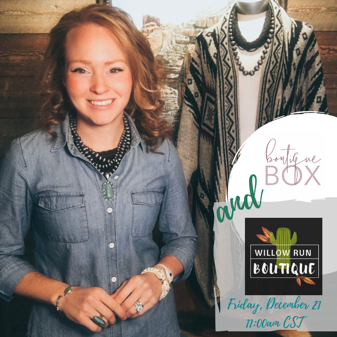 WRB & The Boutique Box together on FB LIVE!
