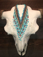 CATTLELAKE'S WESTERN SEEDBEADS NECKLACE