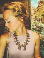 LOSTDUNE'S COPPER LEAF NECKLACE